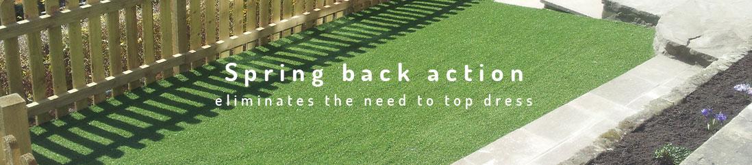 spring back into action artificial grass