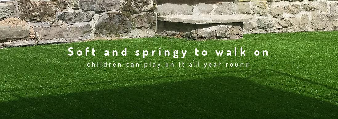 contact artificial grass banner