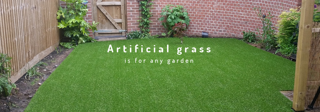 artificial grass is for any garden