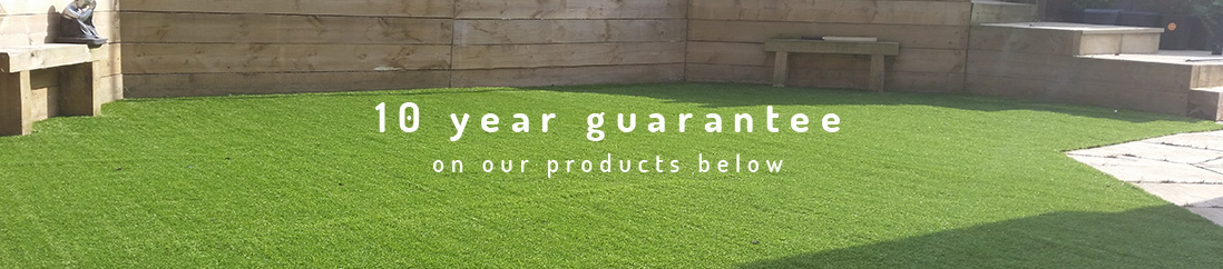 10 year guarantee on our products below